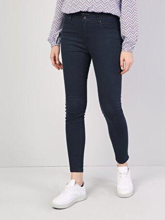 Lacivert Kadın Pantolon