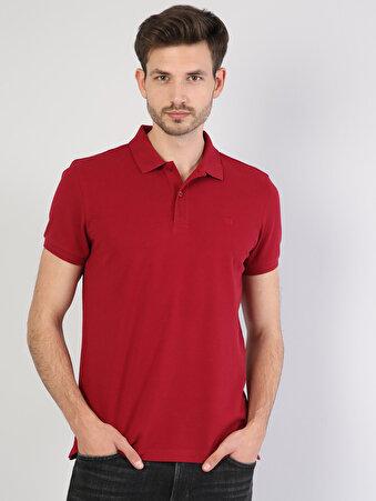 Kırmızı Erkek Polo K.kol