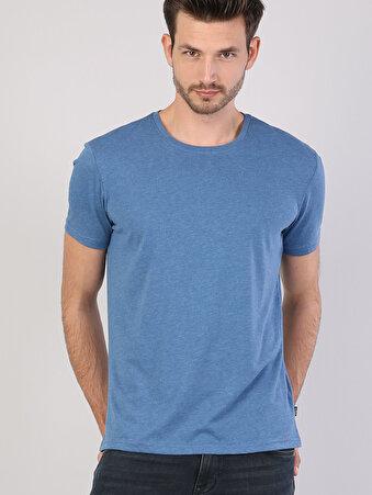 Açık Mavi Erkek Tshirt K.kol