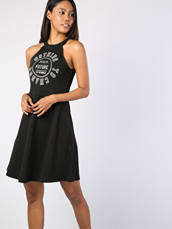 Siyah Kadın Elbise