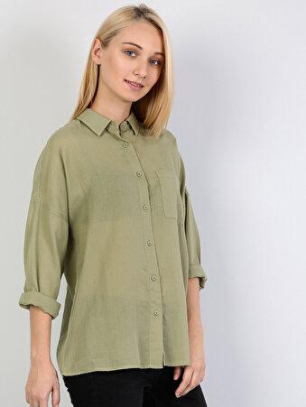 Kadın Gömlek U.kol
