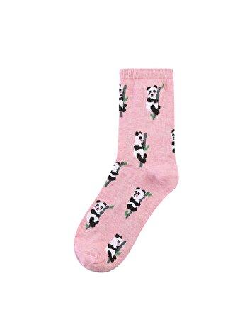 Pembe Kadın Çorap