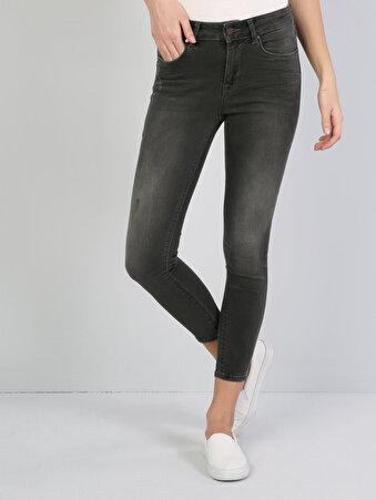 Haki Kadın Pantolon