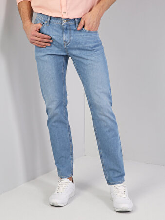 Açık Mavi Erkek Pantolon