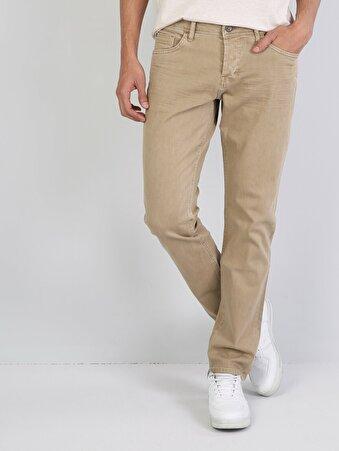 Sarı Erkek Pantolon