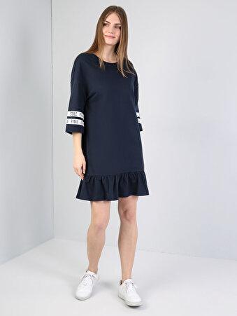 Lacivert Kadın Elbise