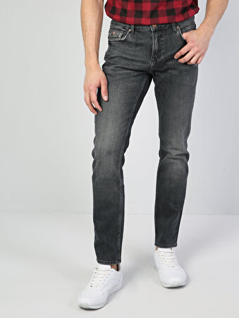 044 Karl Normal Kesim   Denim Jean Pantolon