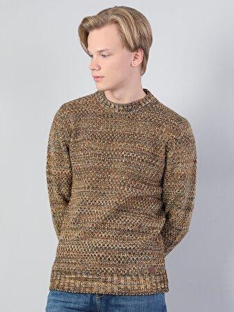Kahverengi Erkek Kazak