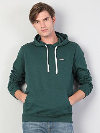 Yeşil Erkek Sweatshirt