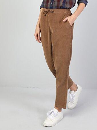 Kahverengi Kadın Pantolon