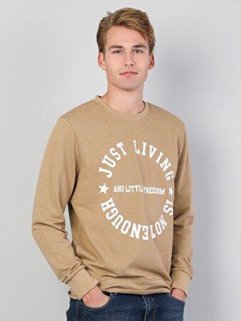 Camel Erkek Sweatshirt