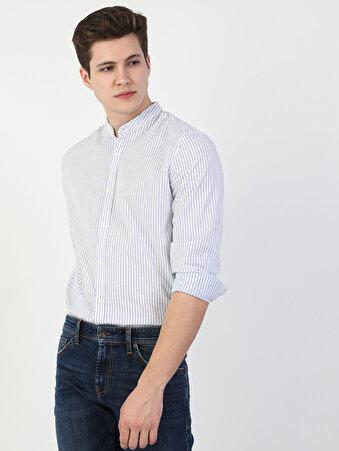 Açık Mavi Uzun Kol Gömlek
