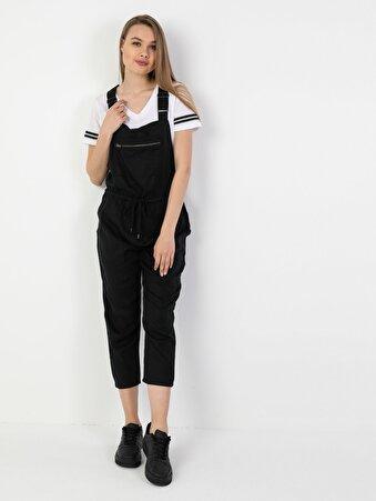 Salopet   Siyah Elbise