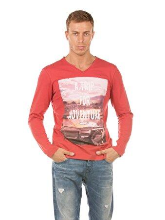 Mercan Erkek Tshirt U.kol