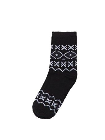 Siyah Bayan Çorap