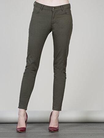Yeşil Kadın Pantolon