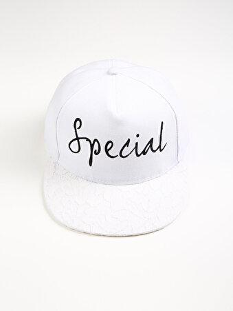 Beyaz Bayan Şapka