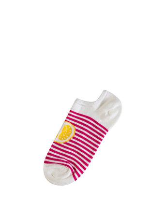 Çok Renkli Bayan Çorap