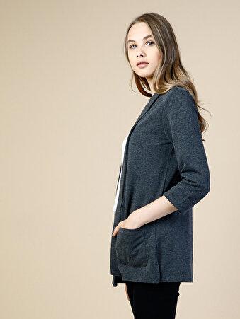 Antrasit Kadın Ceket