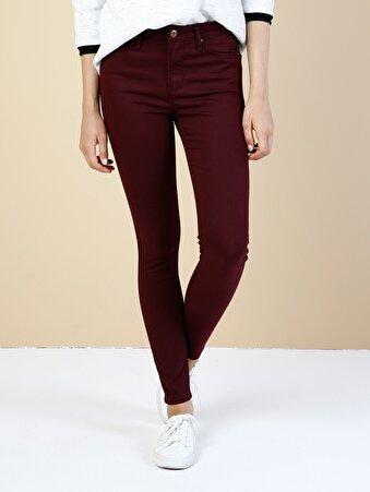 Mor Kadın Pantolon