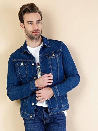 Koyu Mavi Erkek Ceket