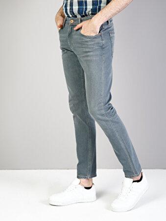 041 Danny Dar Kesim Düşük Bel Dar Paça Mavi Jean Pantolon