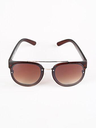 Kahverengi Kadın Gözlük