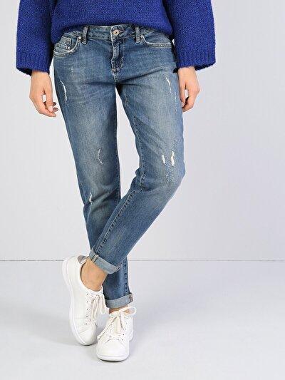 893 Julia Normal Kesim   Mavi Jean Pantolon