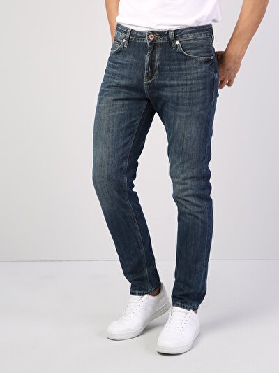 067 Jack Normal Kesim   Mavi Jean Pantolon