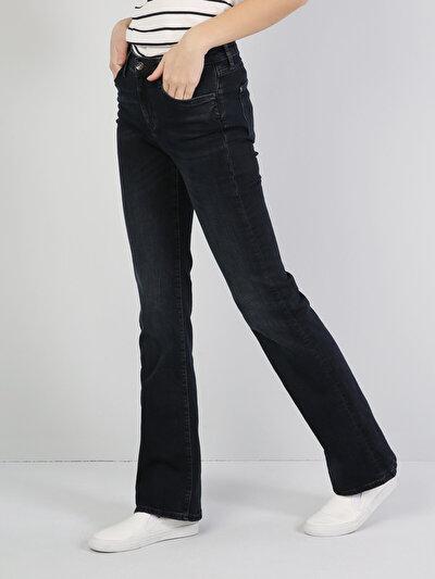795 Dila Normal Kesim   Lacivert Jean Pantolon