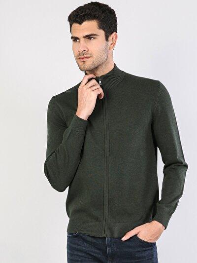 Yeşil Erkek Hırka