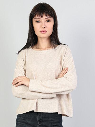Gri Kadın Tshirt U.kol