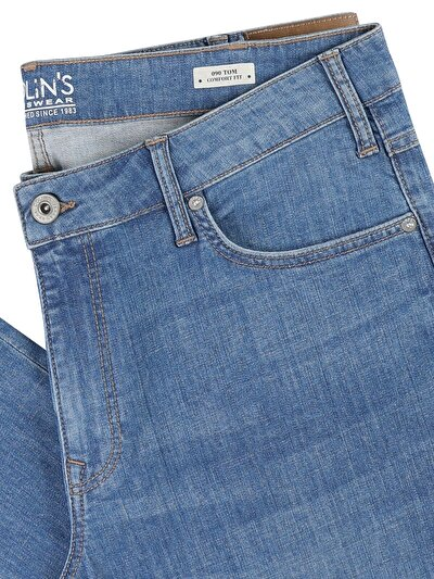 090 Tom Normal Kesim   Denim Jean Pantolon