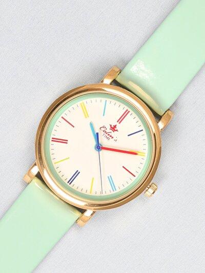 Mint Yeşili Kadın Saat