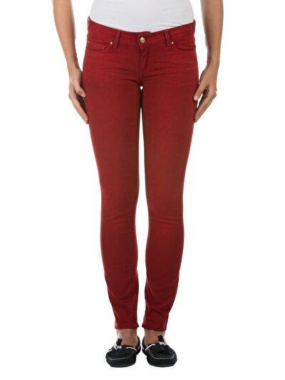 Kırmızı Kadın Pantolon