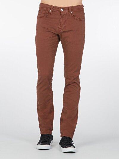 Turuncu Erkek Pantolon