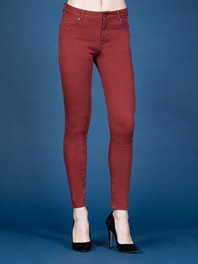 Turuncu Kadın Pantolon
