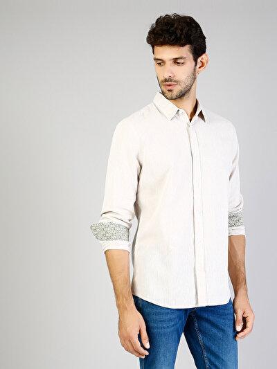 Taş Uzun Kol Gömlek