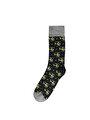 Desenli Lacivert Erkek Çorap