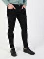 041 Danny Dar Kesim Siyah Erkek Denim Pantolon