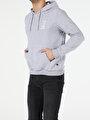 Regular Fit Erkek Gri Melanj Sweatshirt