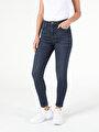 760 Dıana Yüksek Bel Dar Paça Super Slim Fit Jean Kadın Jean Pantolon