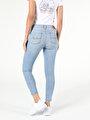 759 Lara Super Slim Fit Orta Bel Skinny  Leg  Kadın İndigo Jean Pantolon