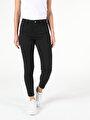 760 Dıana Yüksek Bel Dar Paça Super Slim Fit Siyah Kadın Jean Pantolon