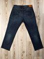 090 Tom Normal Kesim Orta Bel Geniş Paça Mavi Jean Pantolon