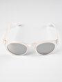 Beyaz Kadın Güneş Gözlüğü
